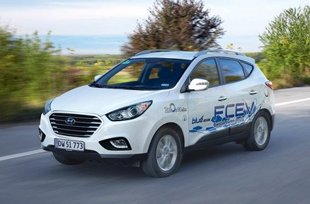 Hydrogen Fuel Cell Electric Vehicle (FCEV)